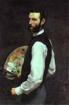 Self-Portrait, by John William Waterhouse (English, 1849-1917)