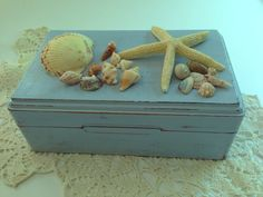 Jewelry Box Hand made distressed upcycled with by PillowtasticPlus, $24.00