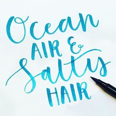 A day at the beach today collecting #driftwood #sandyfeet #beachlover #quote #inspirationalquotes #beachquotes #brushlettering #ink #lettering #moderncalligraphy #calligraphy #handlettering #nikkiwhistoninks #koicolouringbrushpen