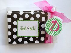 Polka Dot Note Card and Bag Tag Gift Set by Toddletags on Etsy, $22.00