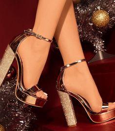 e46153c1cbe5 🔥🔥New Rosegold diamanté platform heel 🔥🔥 New arrival rosegold diamante heel  Shoes Platforms