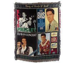 Elvis blanket! So happy!