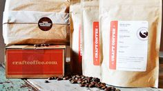 Craft Coffee - Discover and try amazing new coffees monthly through this subscription service.