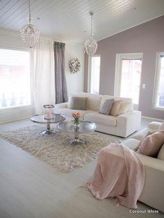 Coconut White: Kesäinen, raikas olohuone!