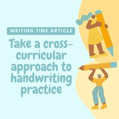 Whether you're teaching another subject or conducting a dedicated handwriting lesson, there are plenty of opportunities for students to practise #handwriting with a cross-curricular approach