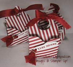 """Envelope Punch Board Bag 'n Box   Cut desired paper 6"""" x 6""""  Punch and score at…"""