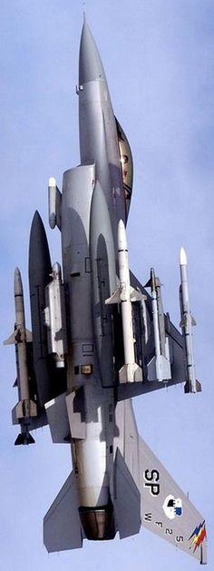 F-16C SEAD  AGM-88 HARM, AIM-120C, AIM-9L