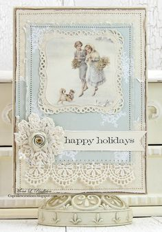 Hi there Pion Design fans! Today I have two holiday cards to share featuring beautiful papers from the Days of Winter collection. Many thanks for visiting. Kind Regards, Mona Pion Design products:D…
