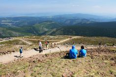 From the top of Snezka Big Mountain, Czech Republic, Places Ive Been, Dolores Park, Mountains, Nature, Travel, Bike, Pictures