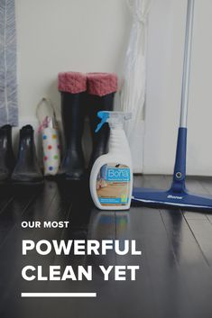 An oxygenated formula that loosens and removes heavy dirt build-up, providing a deep clean for your hardwood floors without the extra effort.