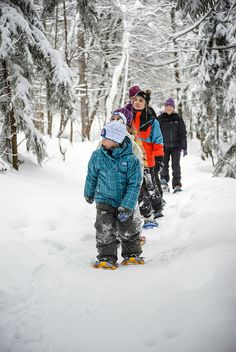 Consultez les différents sentiers de randonnées en raquette dans Brome-Missisquoi.  tourismebm.qc.ca/fr/promo_randonnee_pedestre_h.php Bromont, Winter Activities, Sled, Winter Sports, Php, Winter Wonderland, Outdoor Gear, Have Fun, Winter Jackets