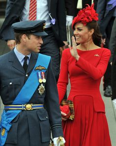 Duke and Duchess of Cambridge at Diamond Jubilee - Thames River Pageant