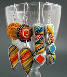 Abstract and Spiral Earrings | Flickr - Photo Sharing!
