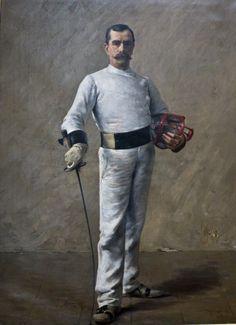 All sizes | Le maître d'armes (M. Barthélémy), 1890, Tancrède Bastet (1858-1942), musée de Grenoble (Isère, France) | Flickr - Photo Sharing!