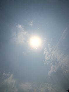 2017년 5월 28일의 하늘 #sky #cloud #sun