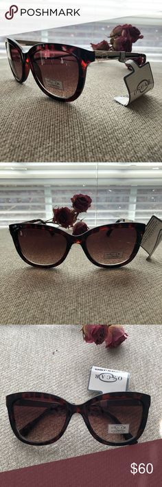NWT Oscar de la Renta Sunglasses 🕶 💎😎💎 Style: Wayfarer Model #: 1244 Color: Brown/Red Tortoise  We package and ship all items with love ❤️  Guaranteed shipping within a day 🚴🏼♀️ Bundle 2 or more listings for a 15% discount 🤑 Any questions? Send a comment and we'll get back to you 🤝 Oscar de la Renta Accessories Sunglasses