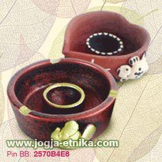 souvenir gerabah tempat lilin/ souvenir gerabah asbak | Rp. 2500/pcs