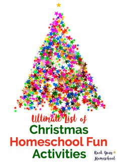 Create special memories with your kids in your homeschool this Christmas! Find ideas & inspiration for ways to celebrate the holidays in homeschool math, writing, science, & more. Suggestions were carefully selected to be as mess-free & stress-free as possible so you can enjoy holiday celebrations with your kids.