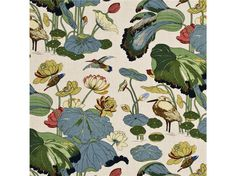 Nympheus - Linen Stone/Pistachio by G P & J Baker Fabric Perennia Linen United Kingdom see sample Horizontal: see sample and Vertical: inches inches - Fabric Carolina - Waverly Wallpaper, Of Wallpaper, Wallpaper Online, Chinoiserie Fabric, Gp&j Baker, Mulberry Home, William Turner, Fabric Suppliers, Tyga
