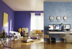 Livingroom | חדר מגורים, סופרקריל 2000 גוון 234A, סוויד מטאלי מנצנץ גוון GSU526