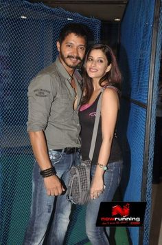 Shreyas Talpade and Madhurima at the promotion of Kamaal Dhamaal Malamaal. More pictures at http://www.nowrunning.com/event/bollywood/kamaal-dhamaal-malamaal-promotion/56435/gallery.htm