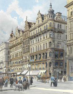 Vienna am Graben -Richard Pokorny