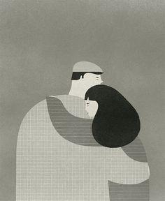 El abrazo - Dagens Poster -