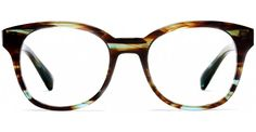 Mallory Blue Marblewood - Optical - Women   Warby Parker