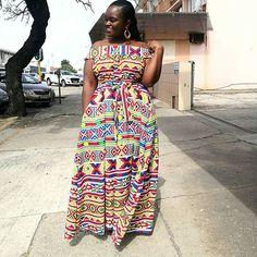 Gugu Peteni (@gugupeteni) • Instagram photos and videos Shweshwe Dresses, African Maxi Dresses, Midi Dresses, African Wear, African Attire, African Blouses, African Accessories, African Traditional Dresses, African Culture