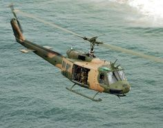 April 24, 1972: Two UH-1 B attack helicopters arrive at Tan Son Nhut Air Base in South Vietnam, becoming the first helicopters equipped with the TOW antitank missile to enter combat.