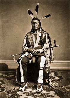 Brulé Chief Iron Nation - Ma-zu-o-ya-te 1867