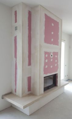 Fireplace Tv Wall, Living Room With Fireplace, Fireplace Design, Drywall, Tv Decor, Home Decor, Tv Wall Design, Building A Deck, Cuisines Design