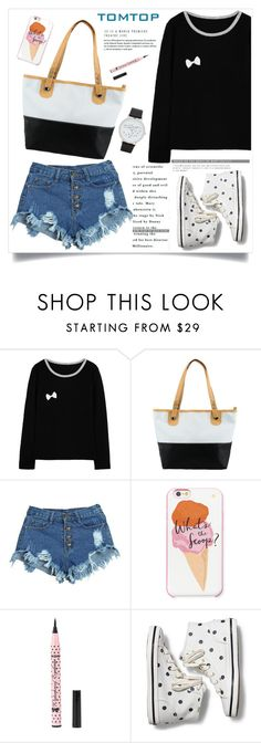 """TOMTOP+ 44"" by amra-mak ❤ liked on Polyvore featuring Kate Spade, Keds, ALDO, vintage, tomtop and tomtopstyle"