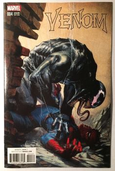 VENOM #4 / GABRIELE DELL OTTO COLOR VARIANT / MARVEL COMICS / SPIDER-MAN / SOLD!!!