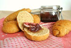 Panini dolci con farina integrale