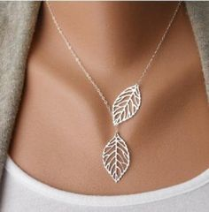 Stunning neckless leaves