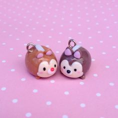 Instagram media by cute_tanpopo - Chip and dale! Do you guys have any tsum tsum plushies? If so which ones? ^^ #chipanddale #disney #tsumtsum #kawaii #handmade