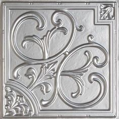 Talissa Decor - Drop in faux tin ceiling tiles