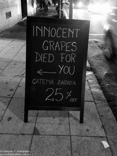 https://flic.kr/p/uc1jVX | Innocent grapes died for you.