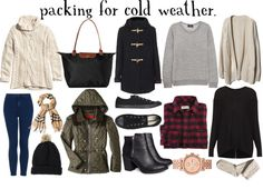 SPARKLES&SUEDE: Packing for Cold Weather