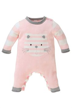 Newborn Clothing - Baby Clothes and Infantwear - Next Cat Knitted Romper - EziBuy Australia
