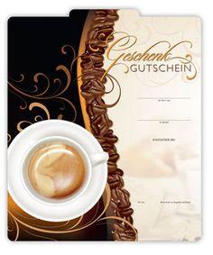 Gutschein für Cafés und Caféhäuser   #Geschenkgutschein #Gutschein #Café #Kaffee #Coffee #Kundengewinnung #G298 Shops, Restaurant, Tableware, Fine Dining, Kaffee, Gifts, Tents, Dinnerware, Dishes