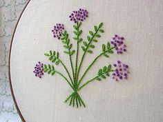 Shakespeare's Flowers - Wild Thyme | Flickr - Photo Sharing! #embroiderypatterns