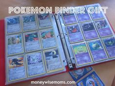DIY Pokemon binder
