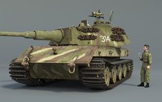 The Foundry Community :: Forums :: E-100 super heavy tank prototype