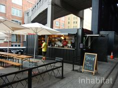 PHOTOS: Terroir Shipping Container Wine Bar is the High Line P...