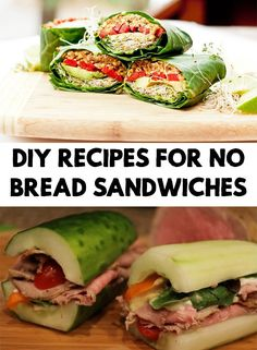 It is very well know that bread is not recommended for our silhouette. Find out 3 Delicious DIY Recipes For No Bread Sandwiches!
