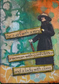 Making dolls by MollyFitzDesigns: Altered Playing Card ATC ACEO