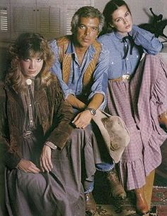 Ralph Lauren western wear 1978. I bought my first RL pieces in 1981...a chambray blue prairie skirt and blouse (just like in this photo). Still my favorite, lo these many years later...clothes, home decor, fragrance.