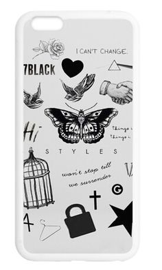 One Direction Harry Styles Tattoo Case for iPhone 4S 5 5S 5C 6 6S Plus Samsung Galaxy S3 S4 S5 Mini S6 Edge A3 A5 A7 Note 23 4 5